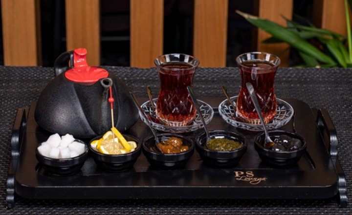 Traditional Azerbaijani Tea Service