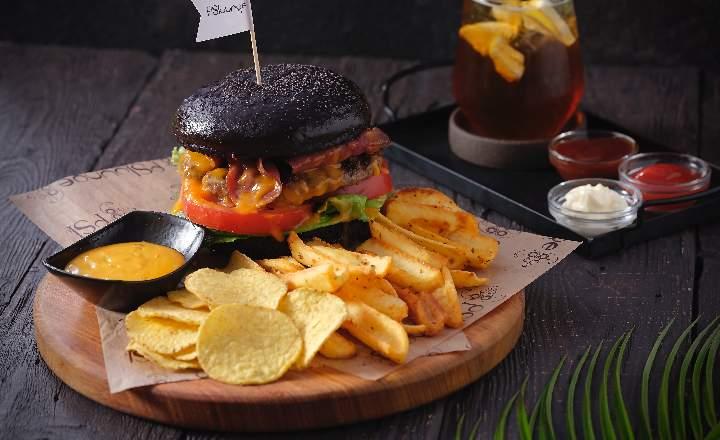 PS Beef Bacon Burger