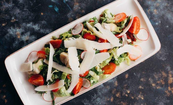 Truffle flavoured Artichoke Heart Salad