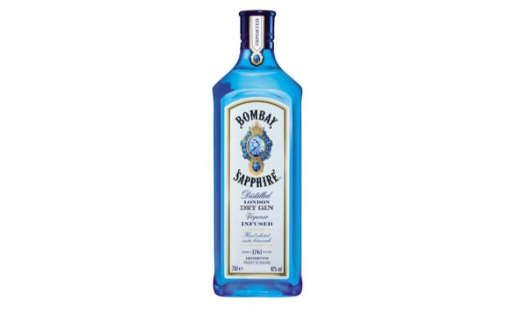 Bombay Shapphire Bottle