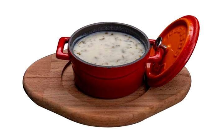Traditional Azerbaijani Dovga Soup