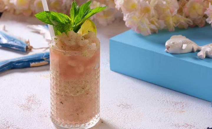 Frozen Lemon-Mint