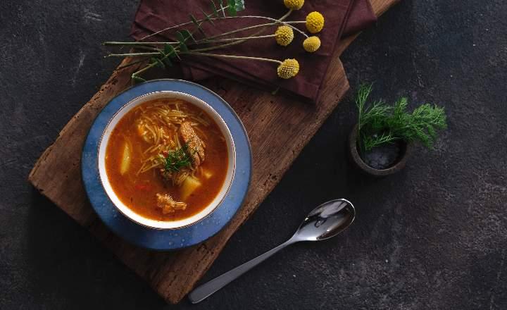 Azerbaijani Chicken Soup