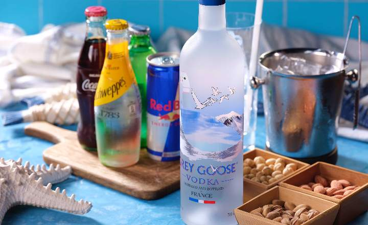 Grey Goose Bottle