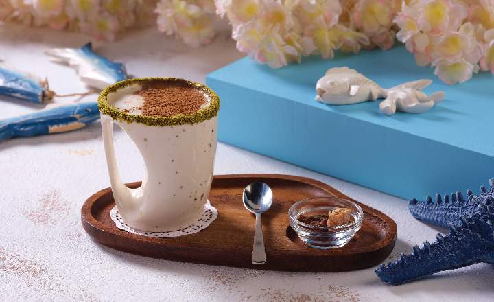Sahlep (Hot Drink Made of Milk and  Orchid Roots)