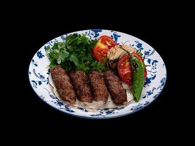 Azerbaijani Local Lule Kebab