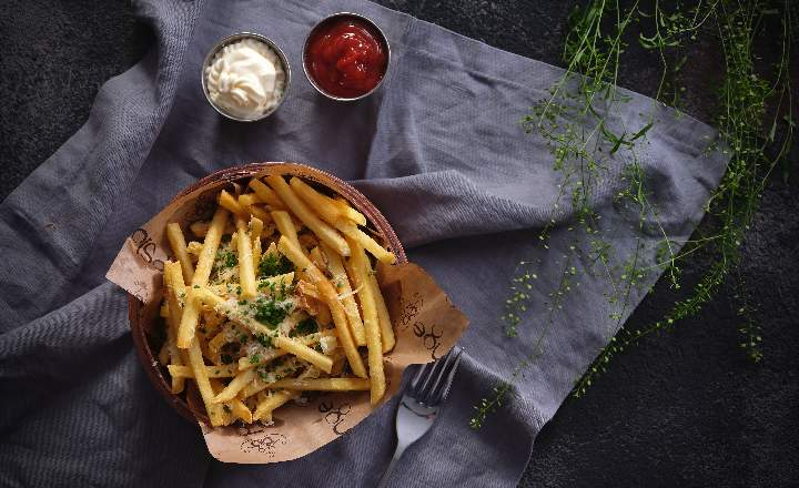 Fries with Truffle