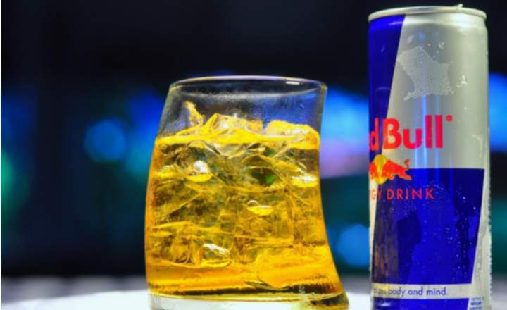 Black Label + Red Bull