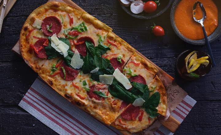 Pizzetta with Sausage