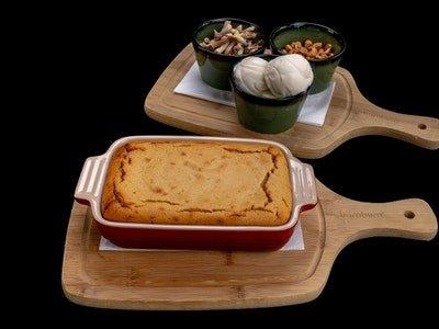 Baked Tahini Cake (Shared Service)