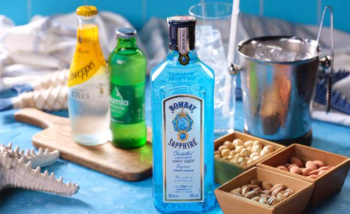 Bombay Shapphire Bottle