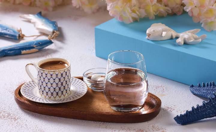 Turkish Coffee with Gum Mastic