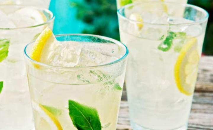 Mexican Basil Lemonade