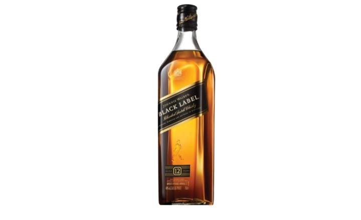 Black Label Bottle
