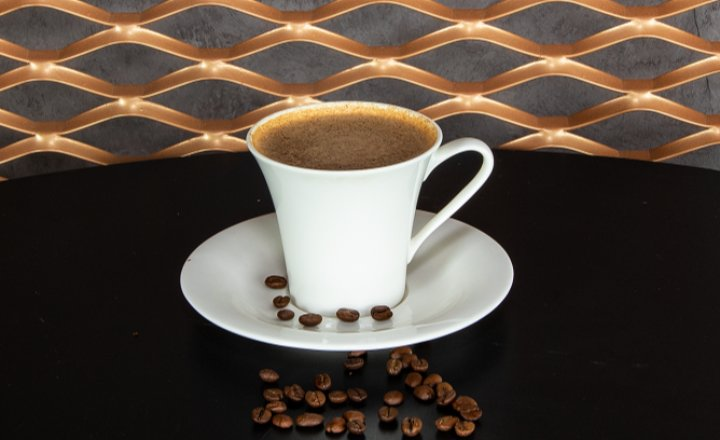 Turkish Coffee with Milk