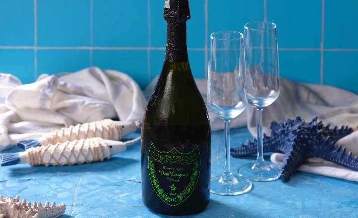 Dom Perignon Bottle