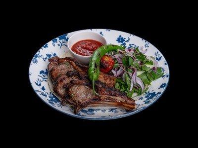 Azerbaijani Local Lamb Steak Kebab