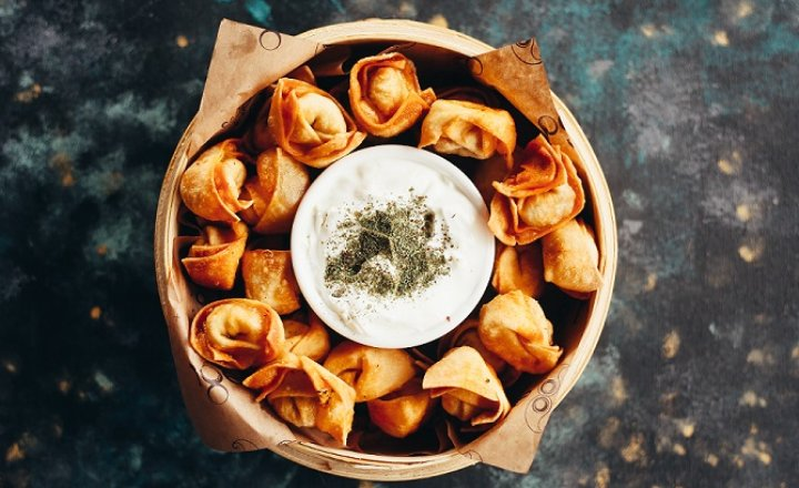 Crispy Turkish-Style Ravioli